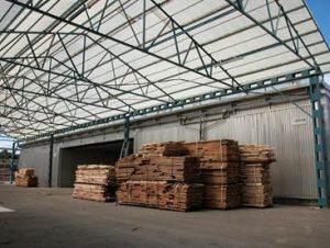 secado de madera industrial