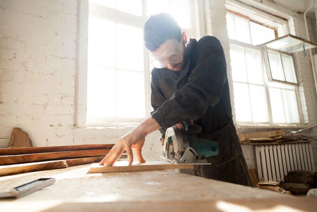 Maquinaria para carpintería industrial